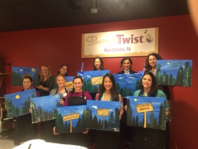 MCDA Painting with a Twist
